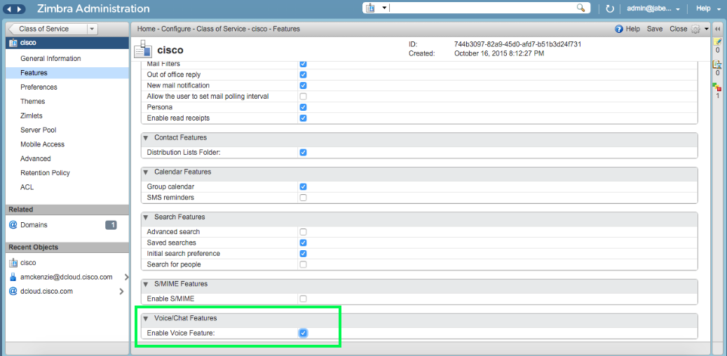 Tips Integrasi Zimbra 8.x dengan Unified Communication Cisco Part 2