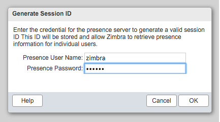Generate Session ID Zimbra 2