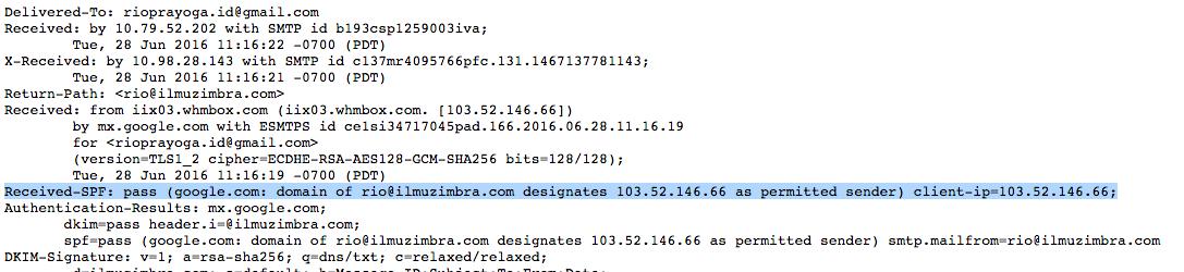 Tips Zimbra Membuat dan Validasi SPF Pada DNS